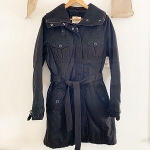 H&M L.O.G.G. Black trench coat